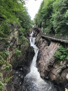 High Falls Gorge School Visit